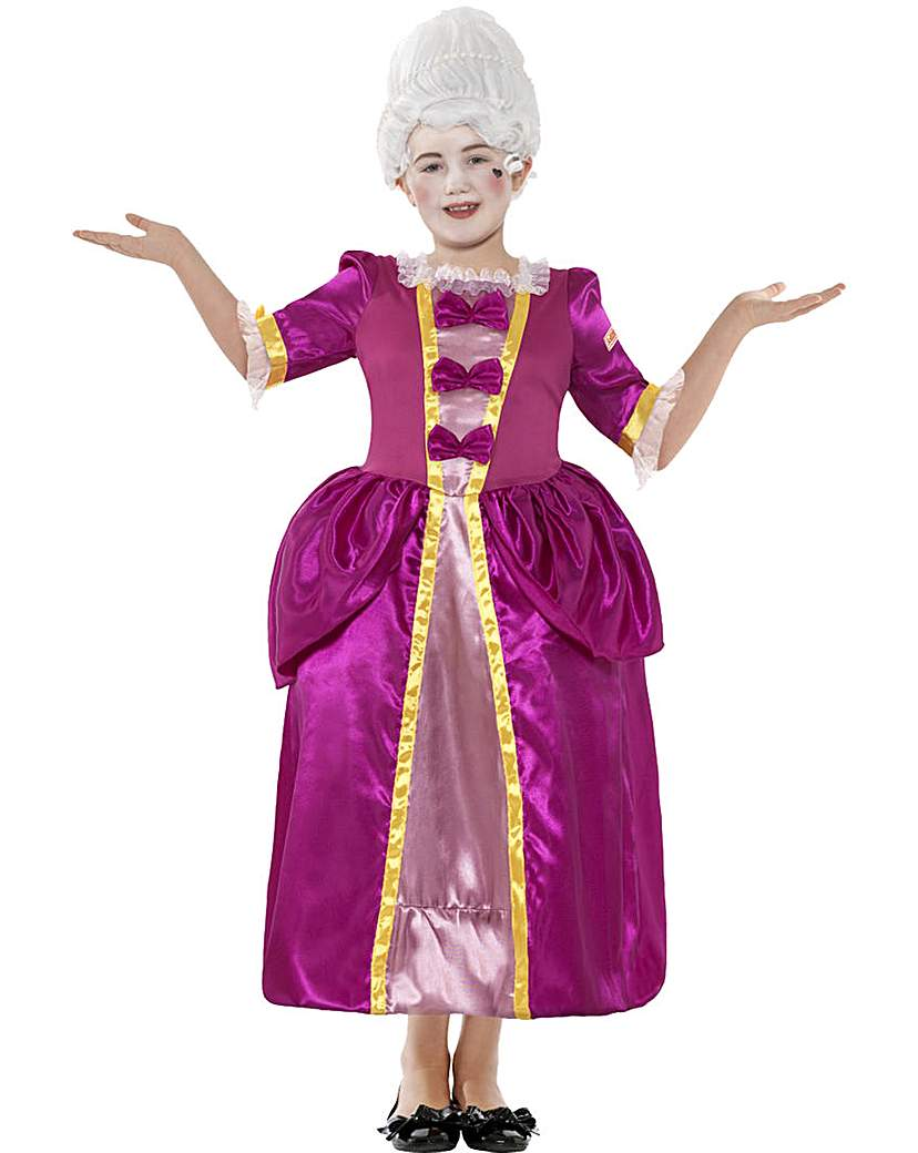 Horrible Histories Georgian Pink Costume