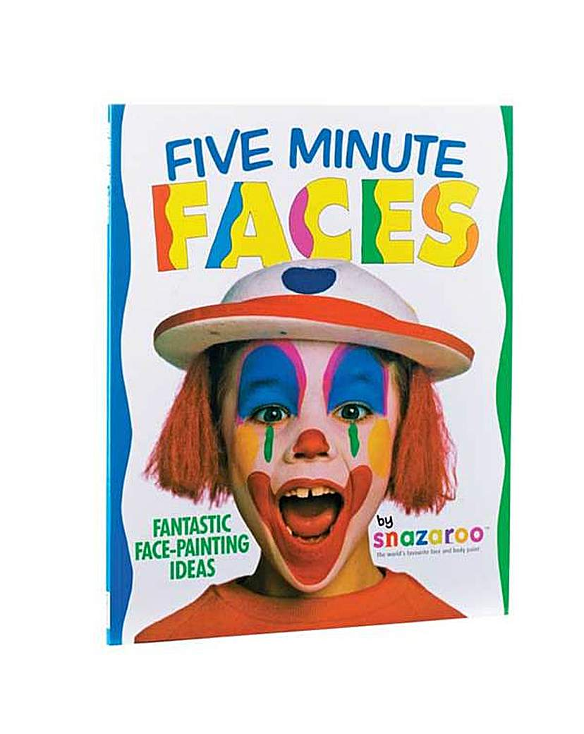 Image of Five Minute Faces Face Painting Book