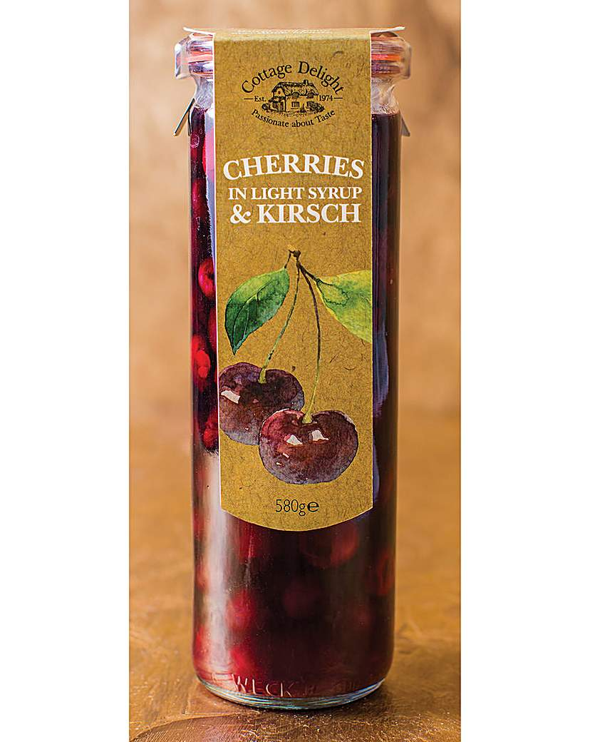 Cottage Delight Cherries in Kirsch