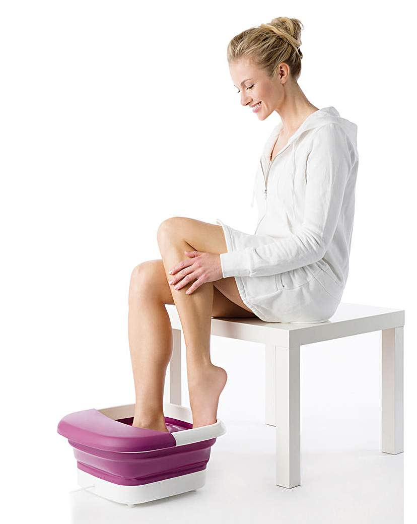 Beurer Foldable Massaging Foot Spa