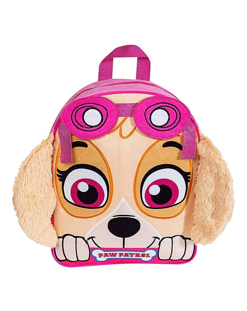 Paw Patrol Skye Plush Front Backpack