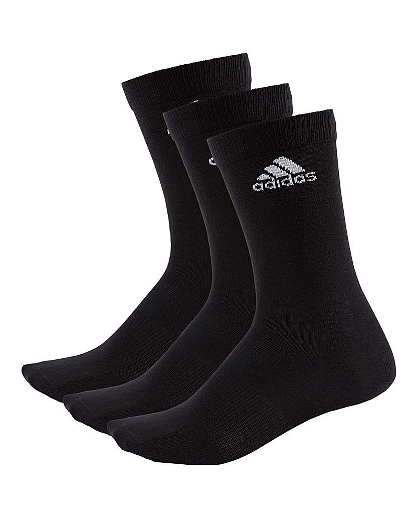 adidas Pack of 3 Crew Socks
