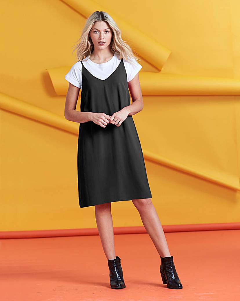 Strappy Shift Dress