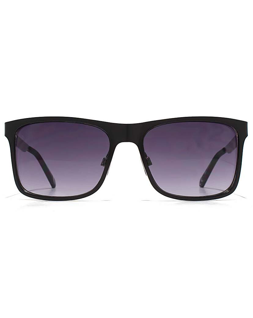 Image of Ben Sherman Checked Temple Sunglasses