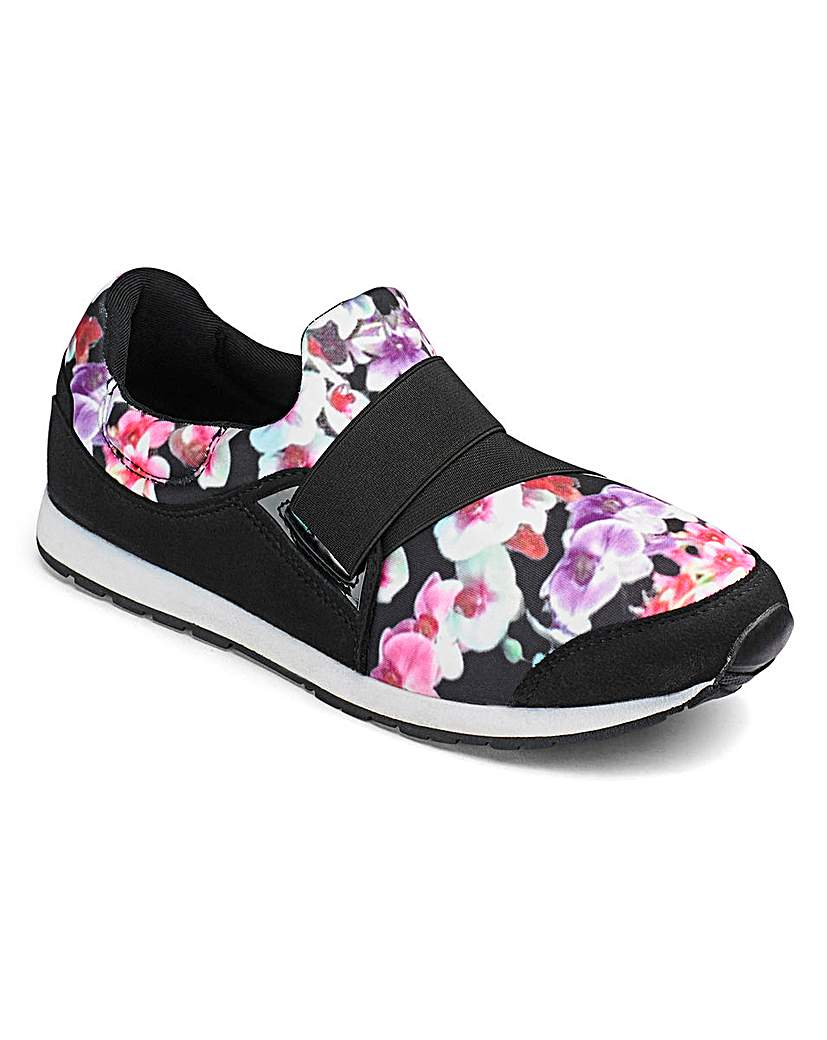 Image of Capsule Active Elastic Strap Trainers