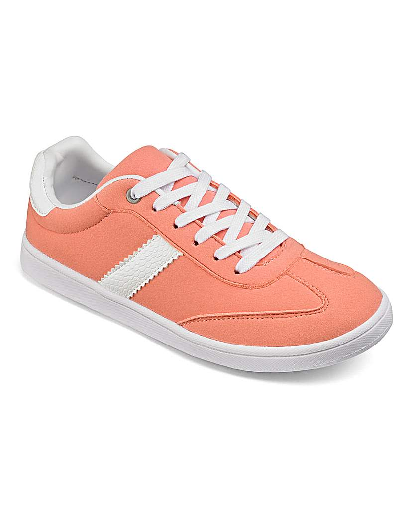 Capsule Active Lace up Trainers EEE Fit
