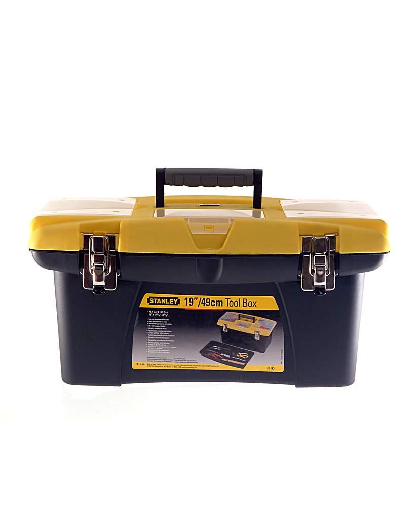 Jumbo Toolbox 19in + Tray      1-92-906