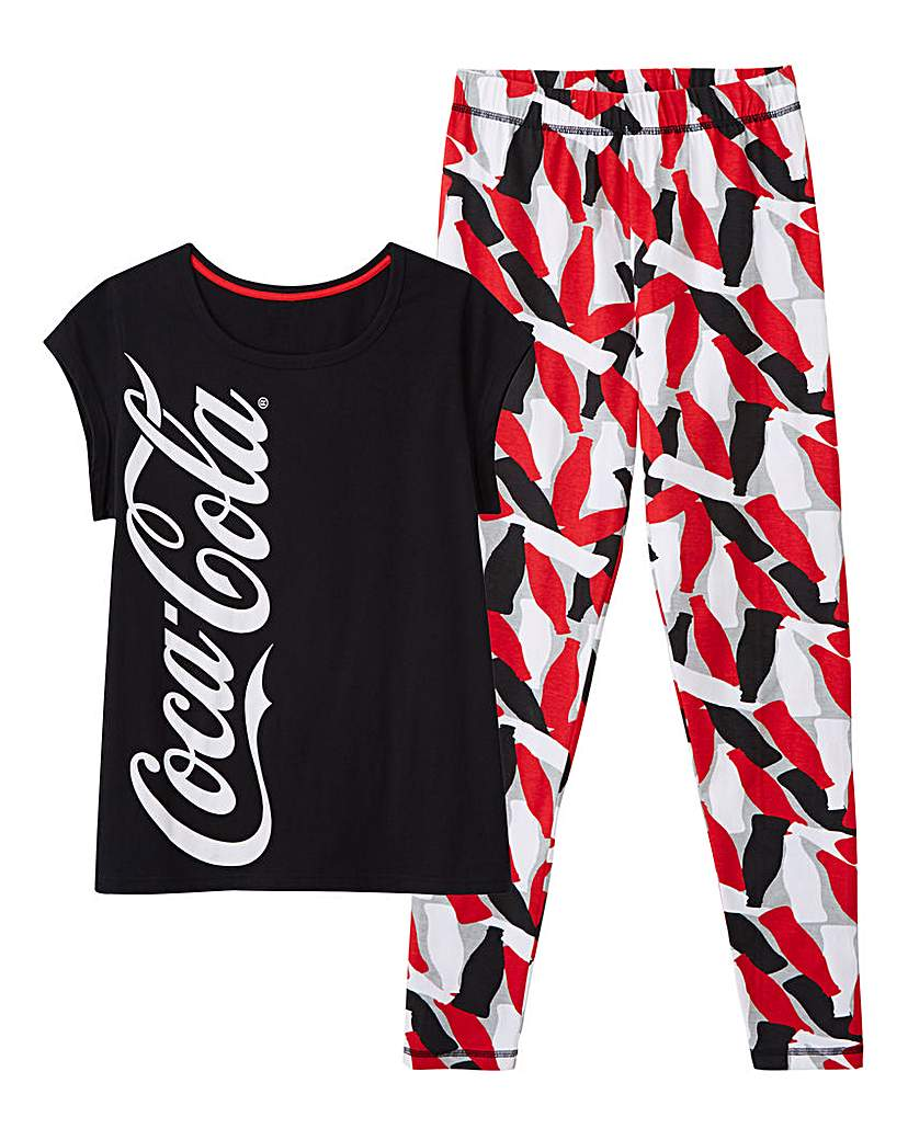 Image of Coca Cola Legging Pyjama Set
