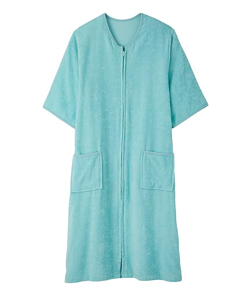 Pretty Secrets Towelling Zip Gown