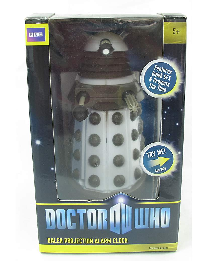 Image of Doctor Who Projection Alarm Clock