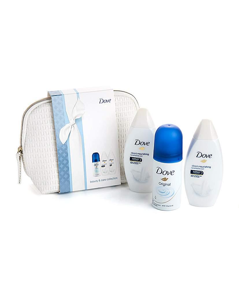 Dove Mini Wash Bag Gift Set