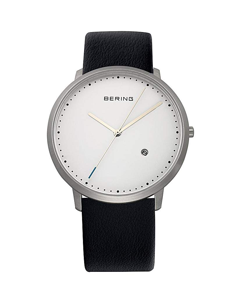 Image of Bering Gents White Dial Strap Watch