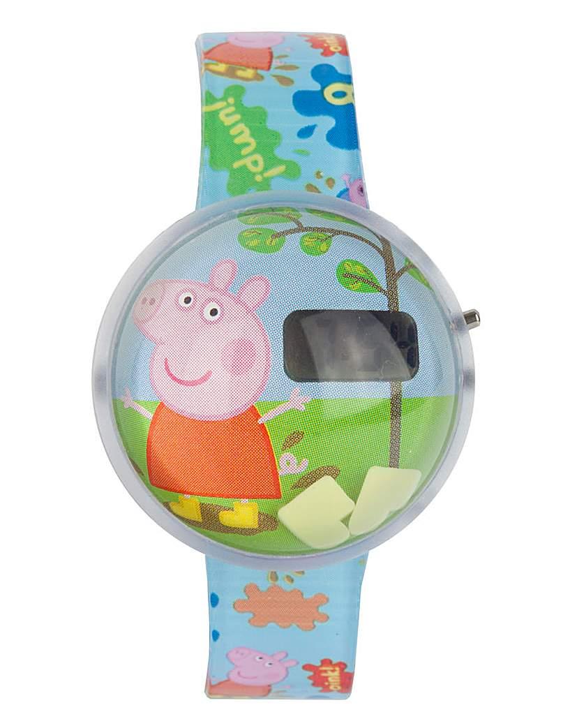 PEPPA PIG LCD BUBBLE WATCH
