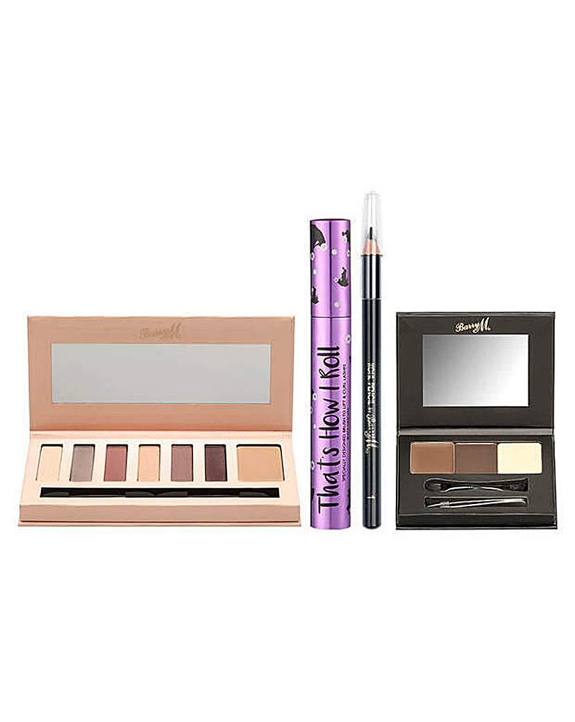 Image of Barry M Cosmetics Glam to Go Eye Kit.