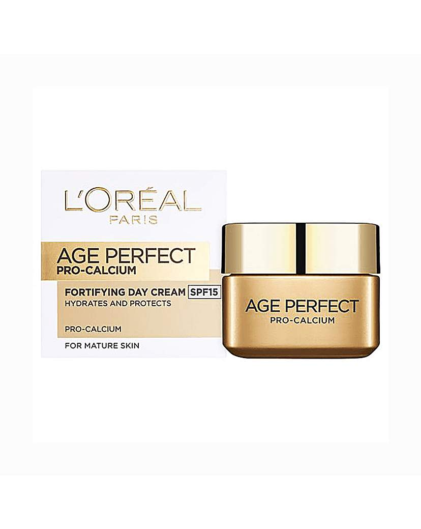 Image of L'Oreal Fortifying Day Cream SPF15 50ml