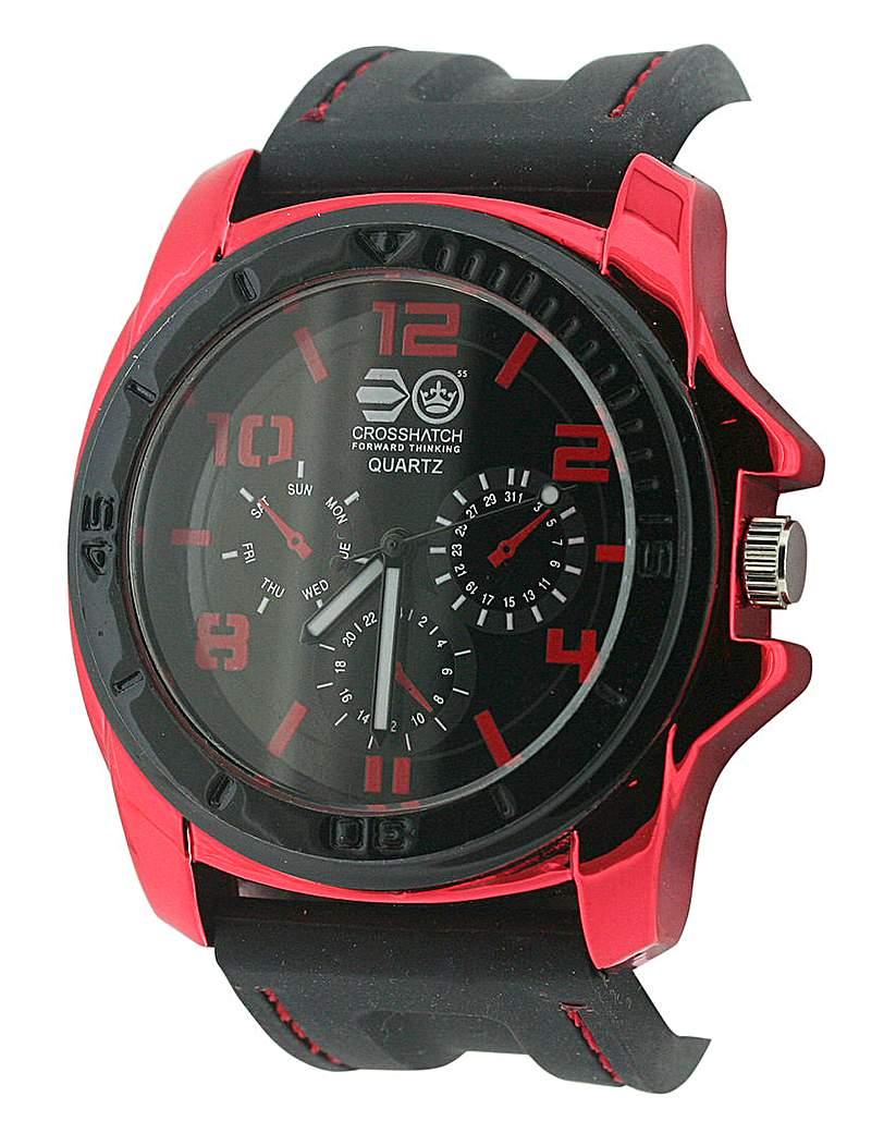 Crosshatch Watch