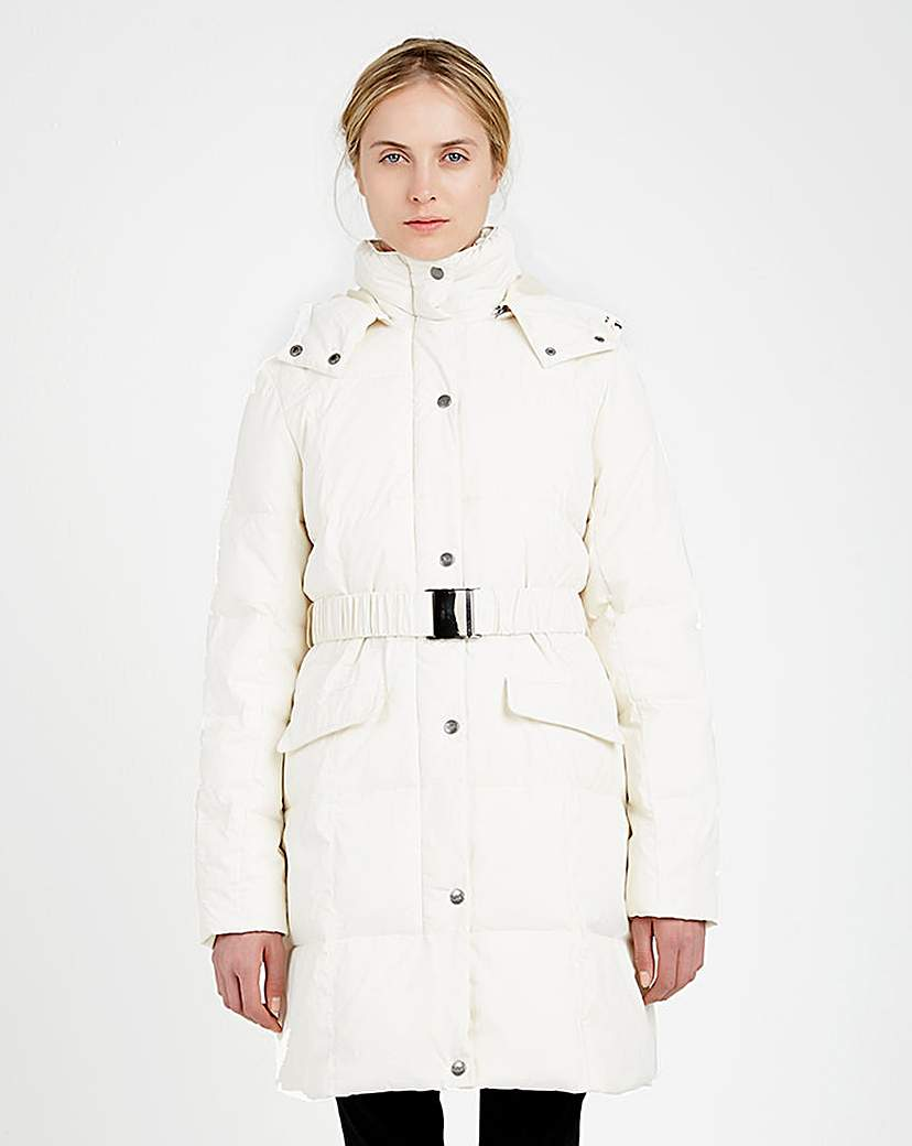 Puffa Padded Belted Coat