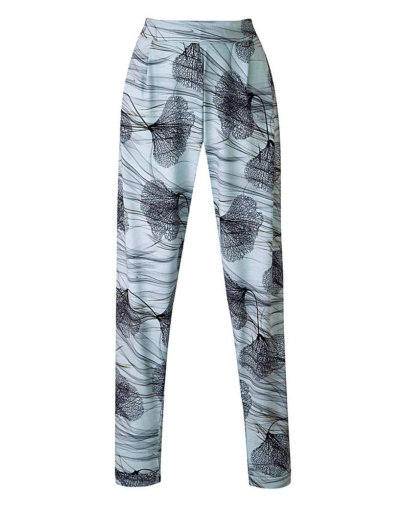 Image of A Postcard from Brighton Print Trousers