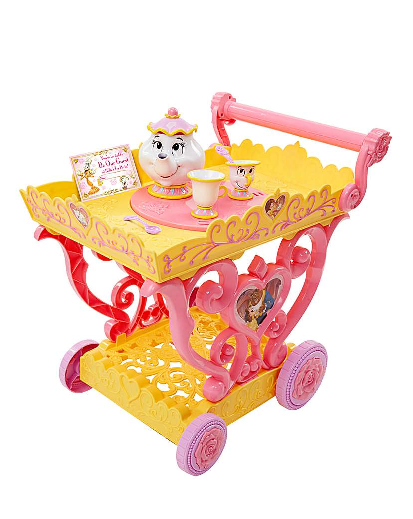 Image of Princess Belle Talking Tea Party Cart