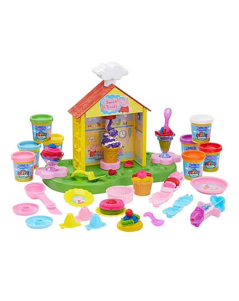 Product photo of Peppa pig tea party dough set