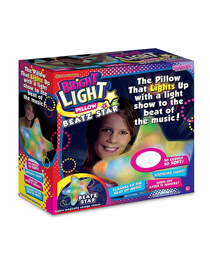 Image of Bright Lights Pillow Beatz Flashing Star
