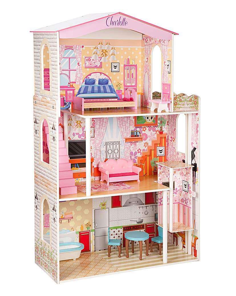 Personalised Wooden Dolls House 1.2m