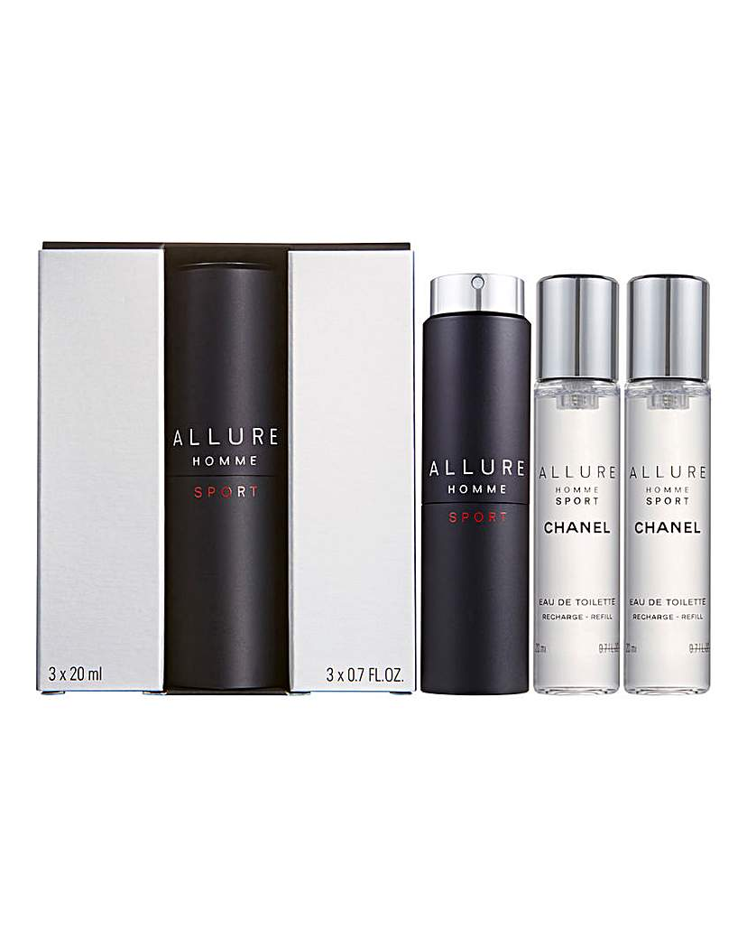 Image of Chanel Allure Sport 3 x 20ml EDT