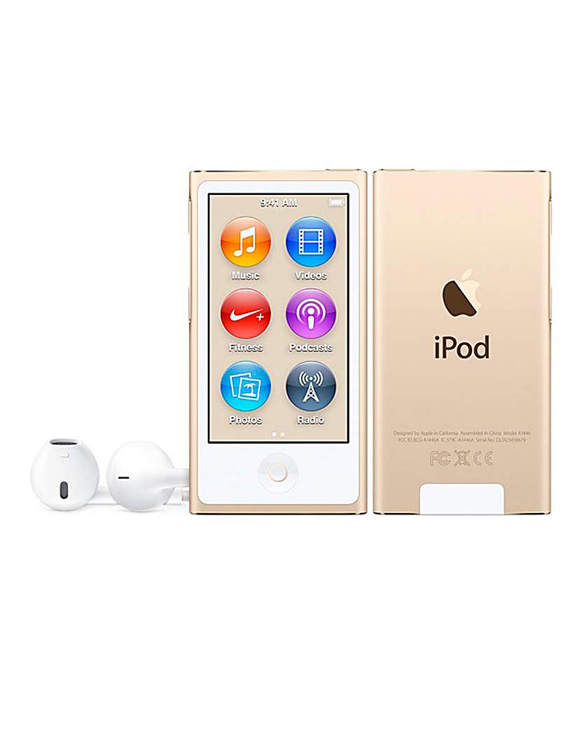Apple iPod Nano 16GB Gold -July 2015