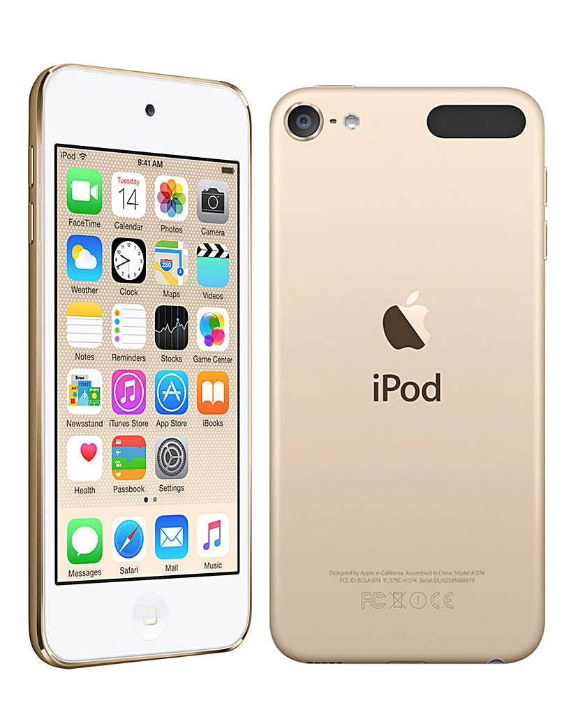 Apple iPod Touch 16GB Gold -6th Gen July