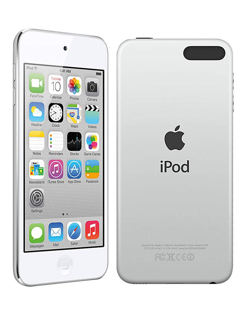 Apple iPod Touch 32GB Silver -6th Gen Ju