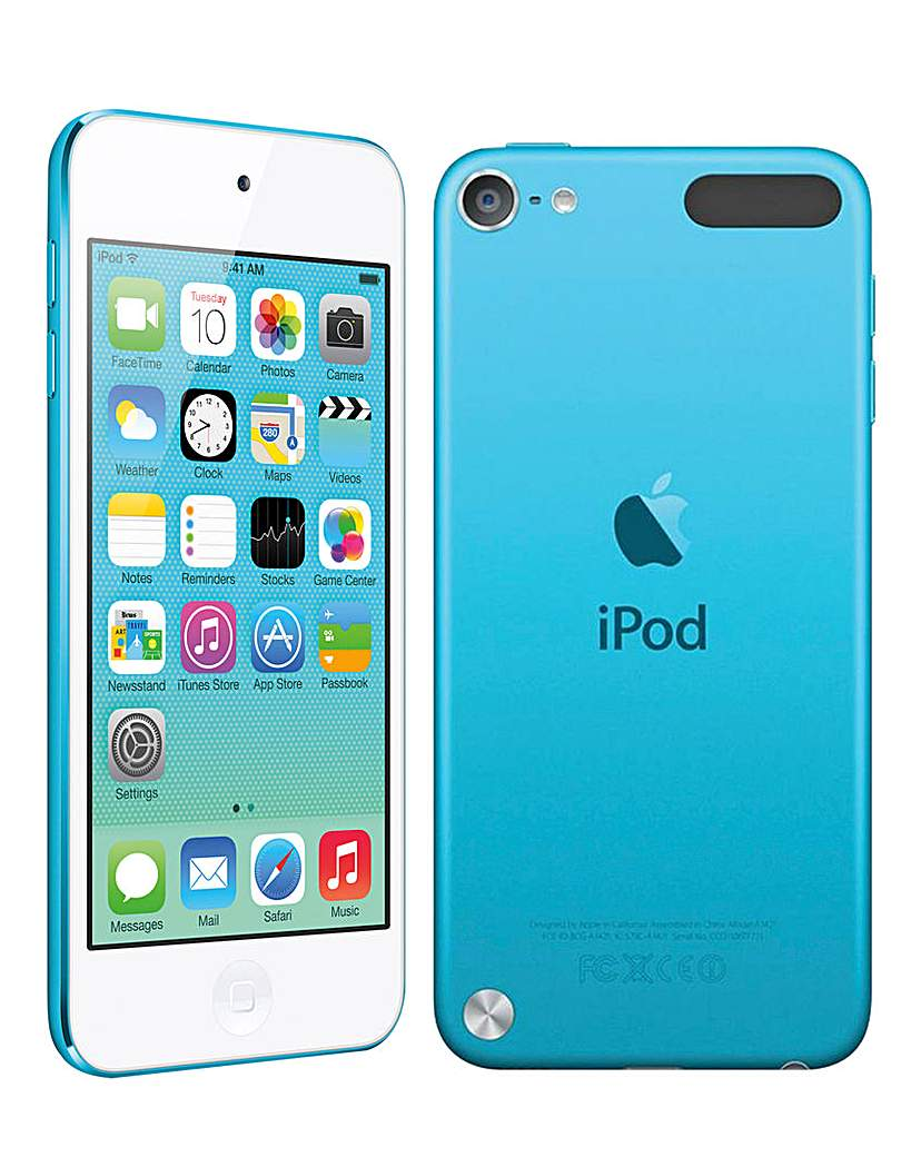 Apple iPod Touch 64GB Blue -6th Gen July