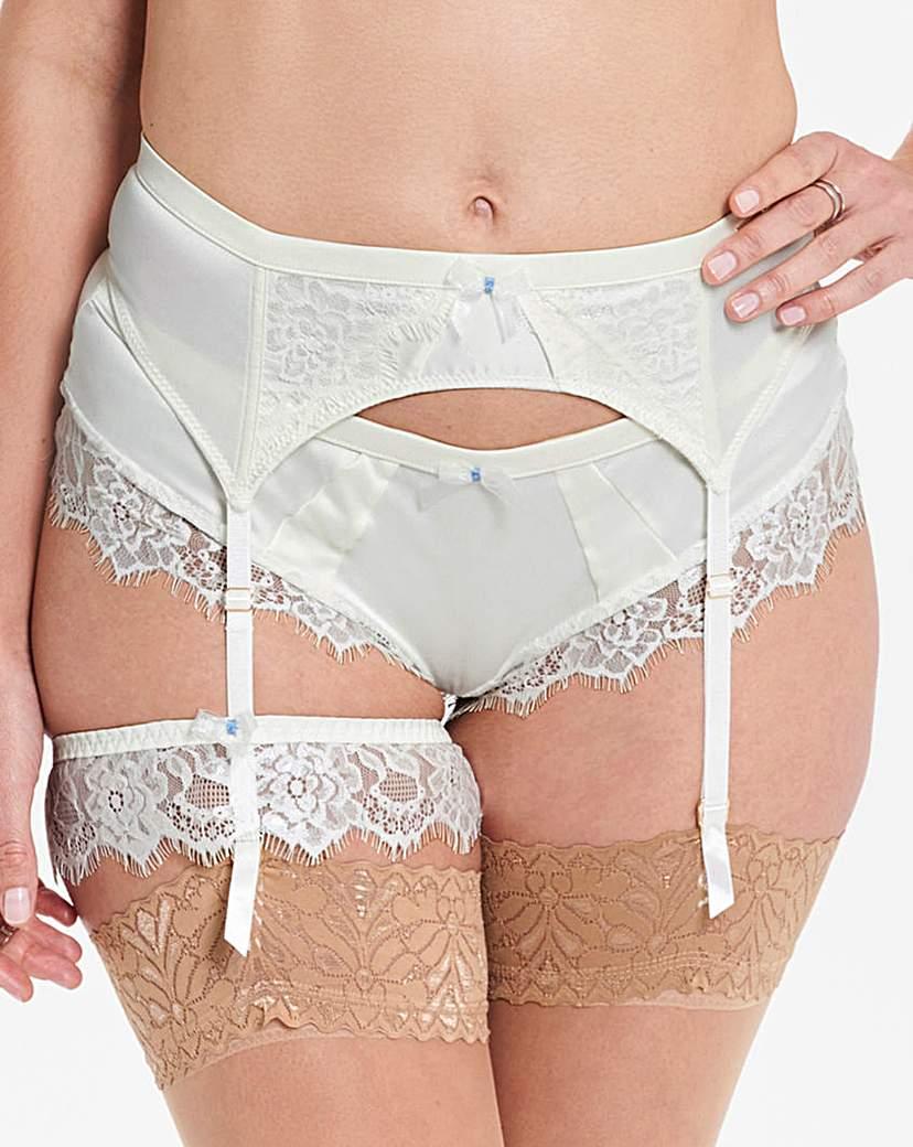 Ultimo Bridal Suspender Belt
