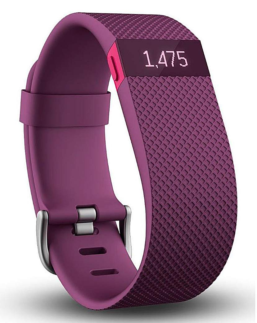 Fitbit Charge HR Fitness Tracker Large