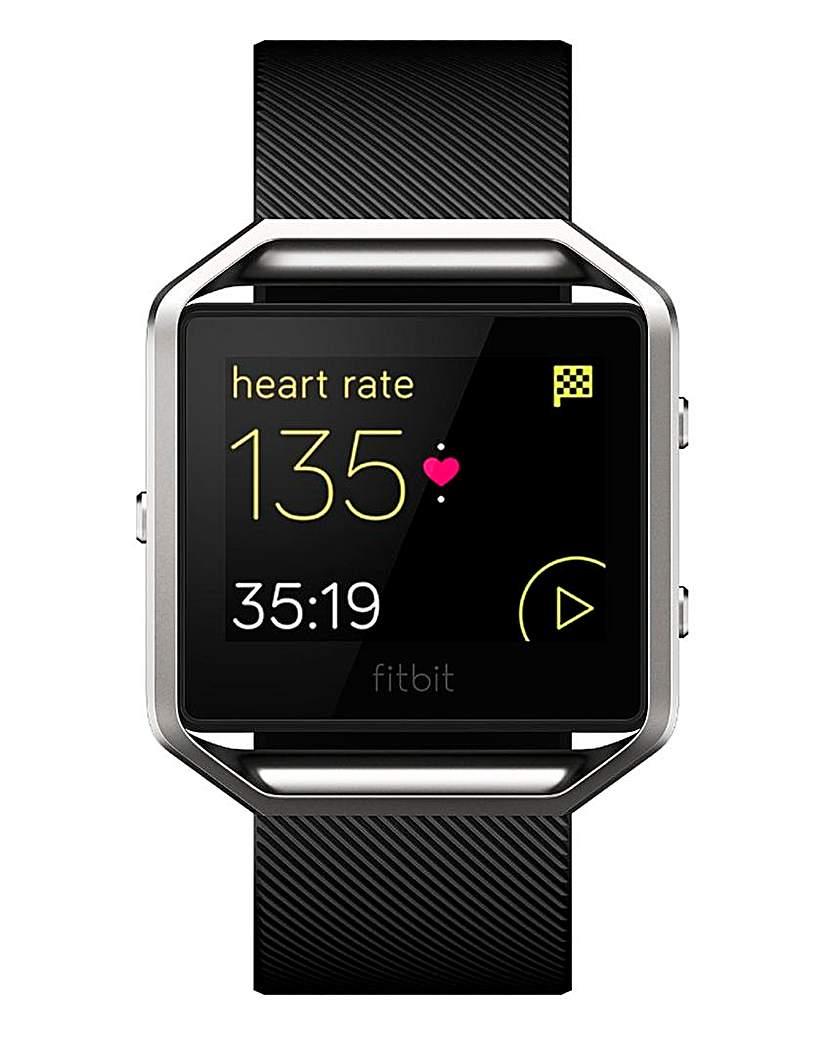 Fitbit Blaze Smartwatch Black Large