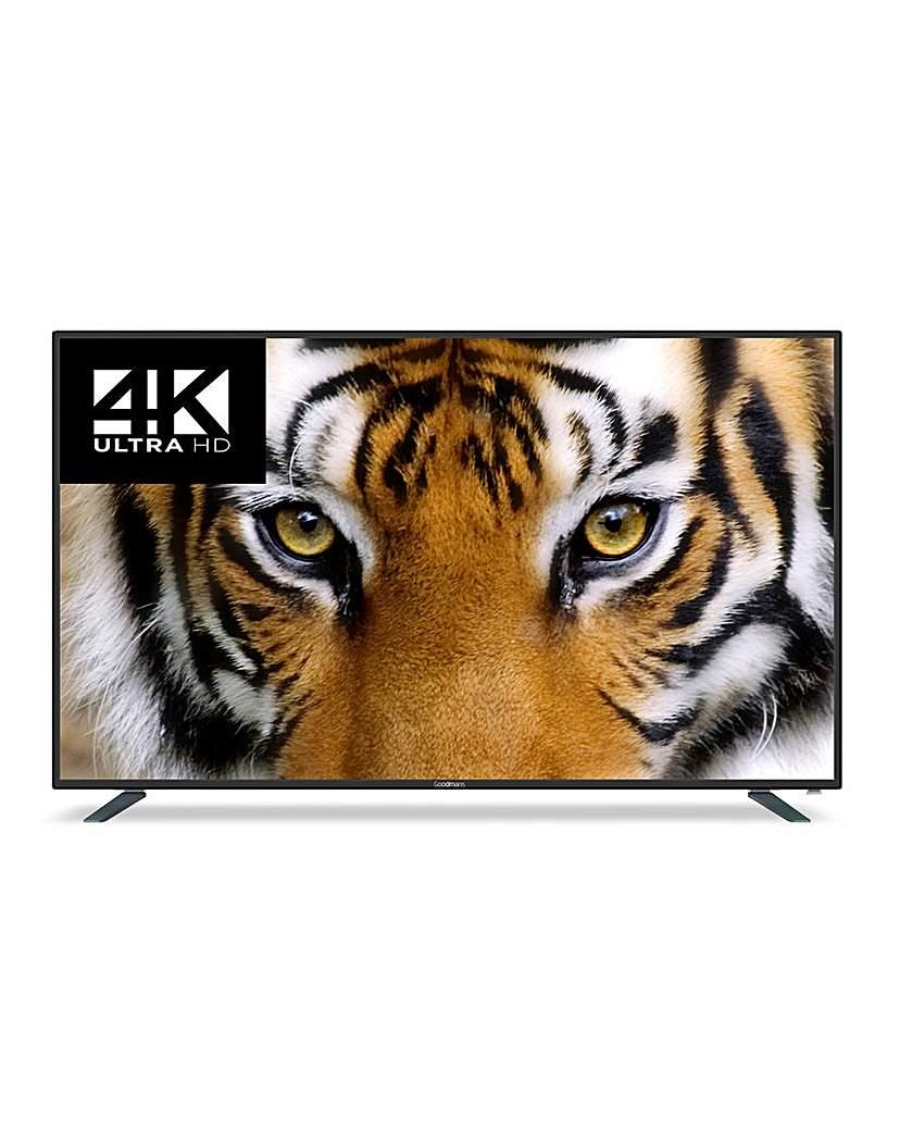 Goodmans 65in 4K Smart LED TV + Install