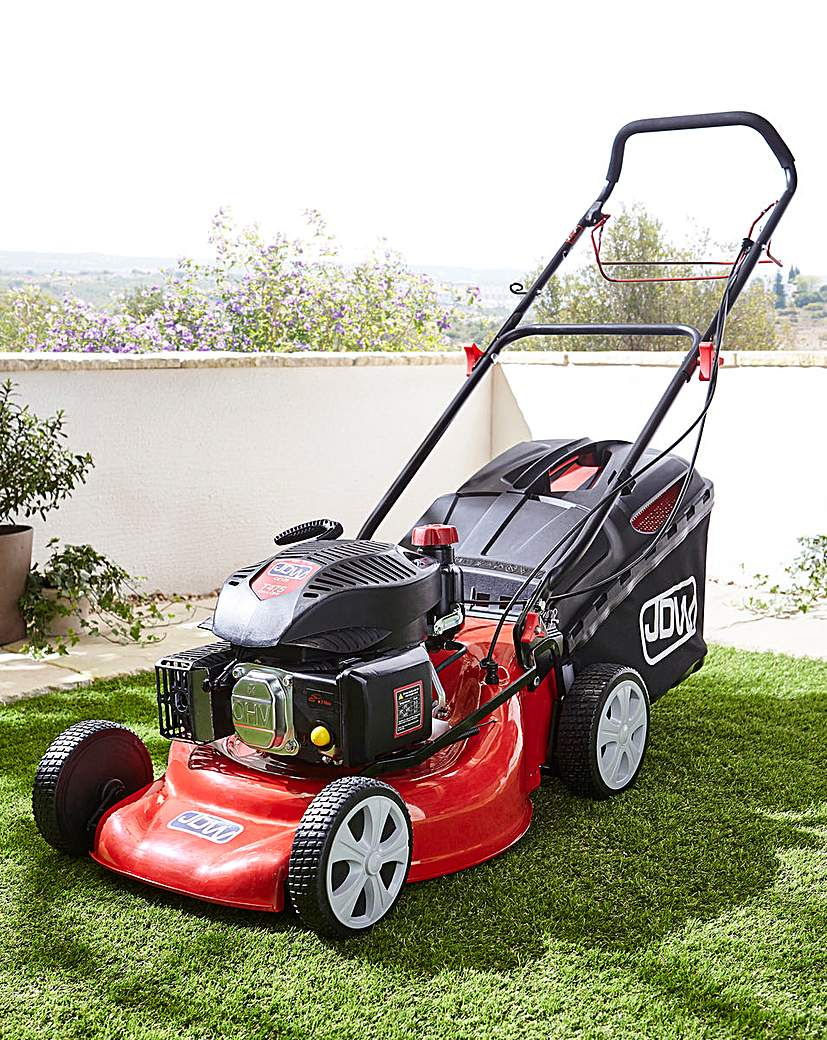 JDW 46cm Powerdrive Petrol Lawnmower