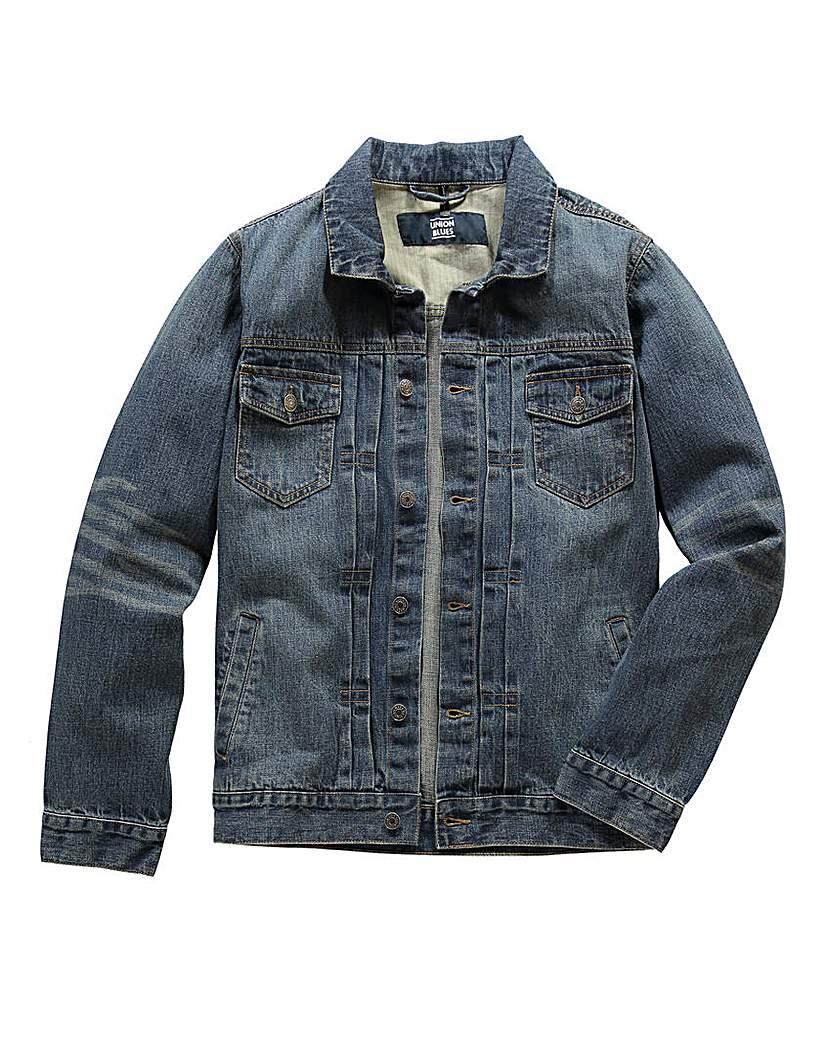UNION BLUES Margate Denim Jacket £40.00 AT vintagedancer.com