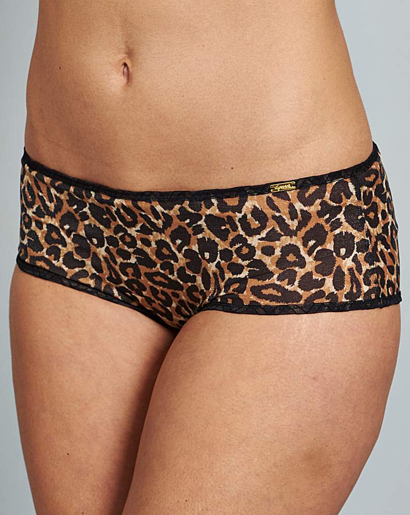 Gossard Glossies Animal Print Shorts
