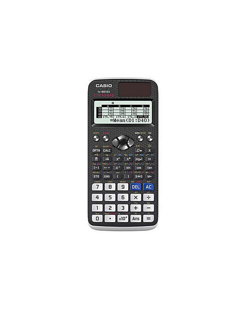 Casio FX-991EX Scientific Calculator.