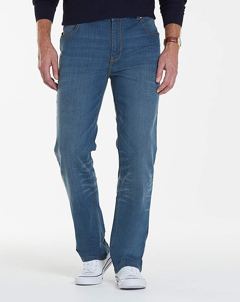 Lambretta Cyrus Stretch Jeans 33in