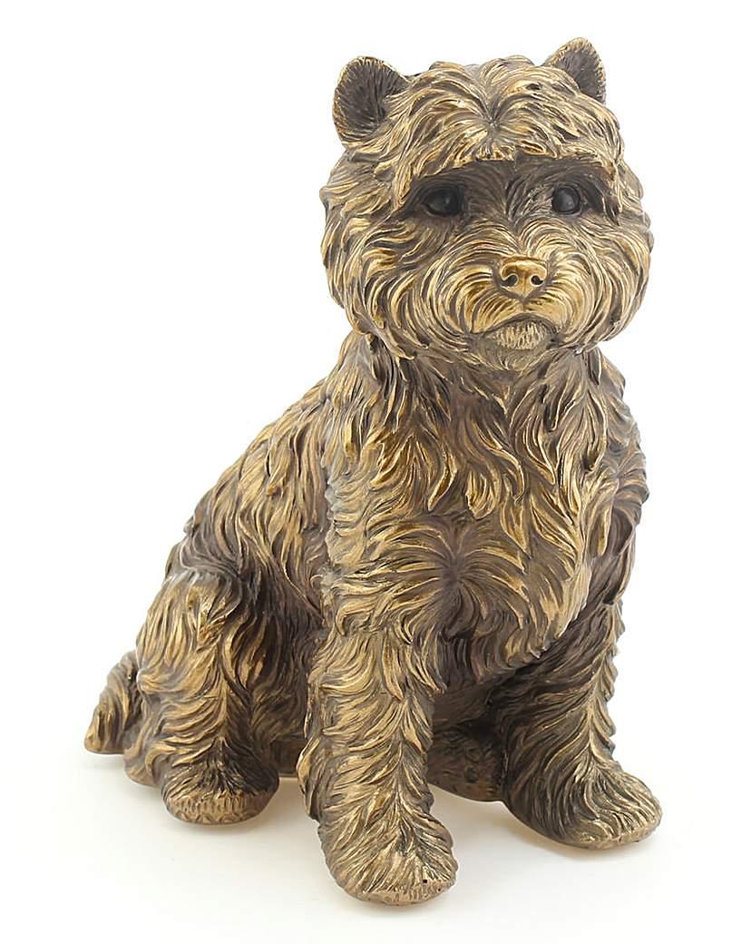 Bronze Dog Ornament