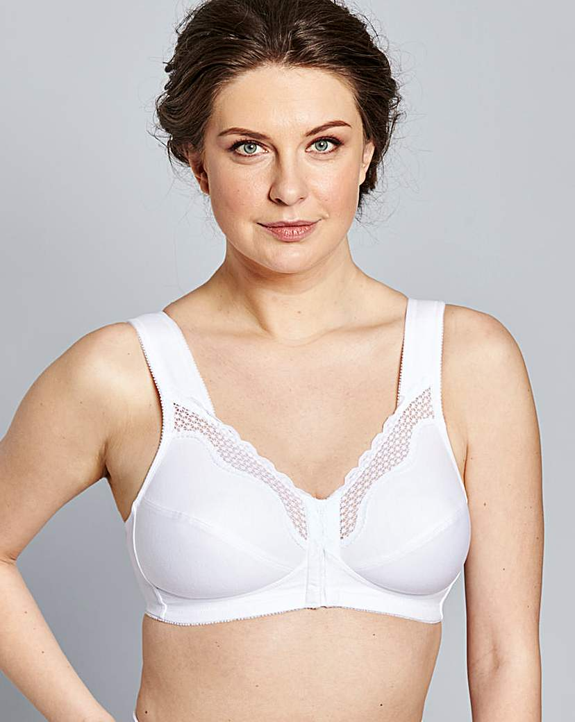 Bestform Front Fastening Non Wired Bra.