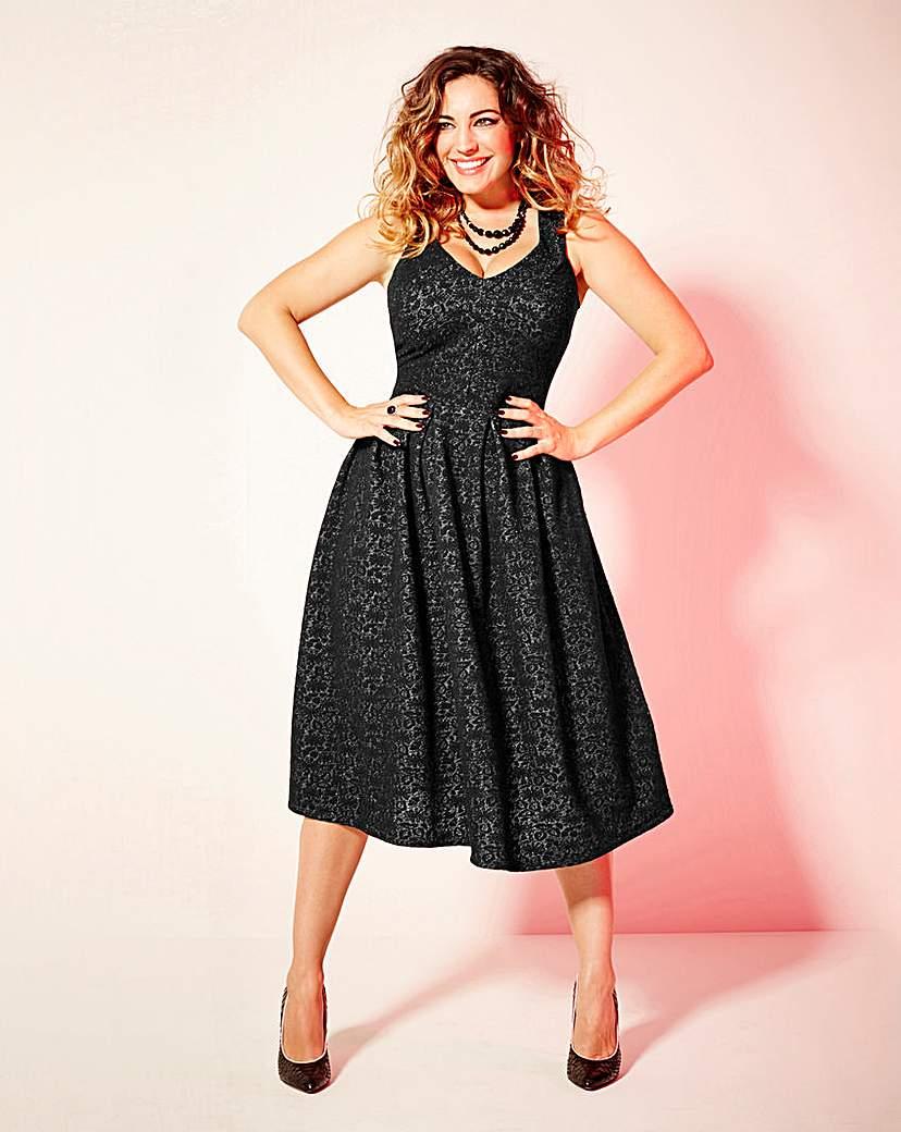 Kelly Brook Midi Dress
