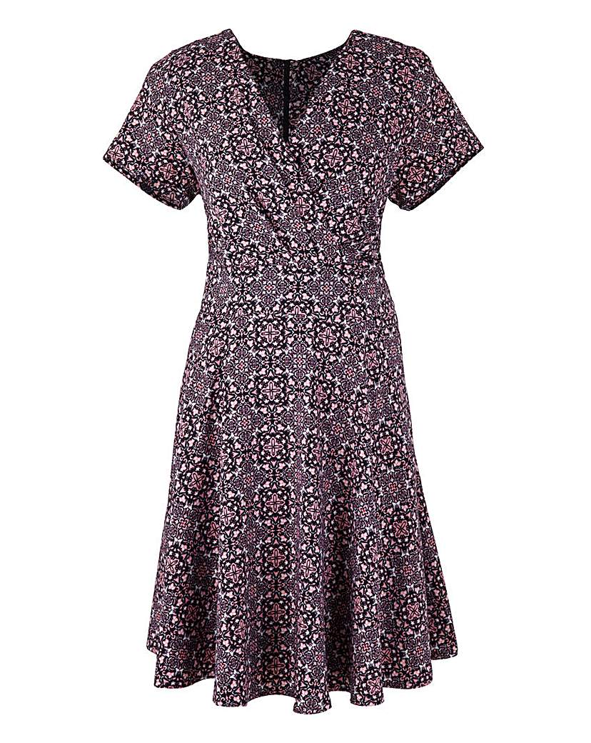 Fever London Print Folklore Dress