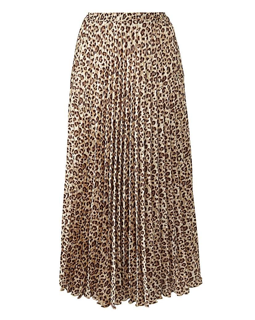 Joanna Hope Animal Print Maxi Skirt.
