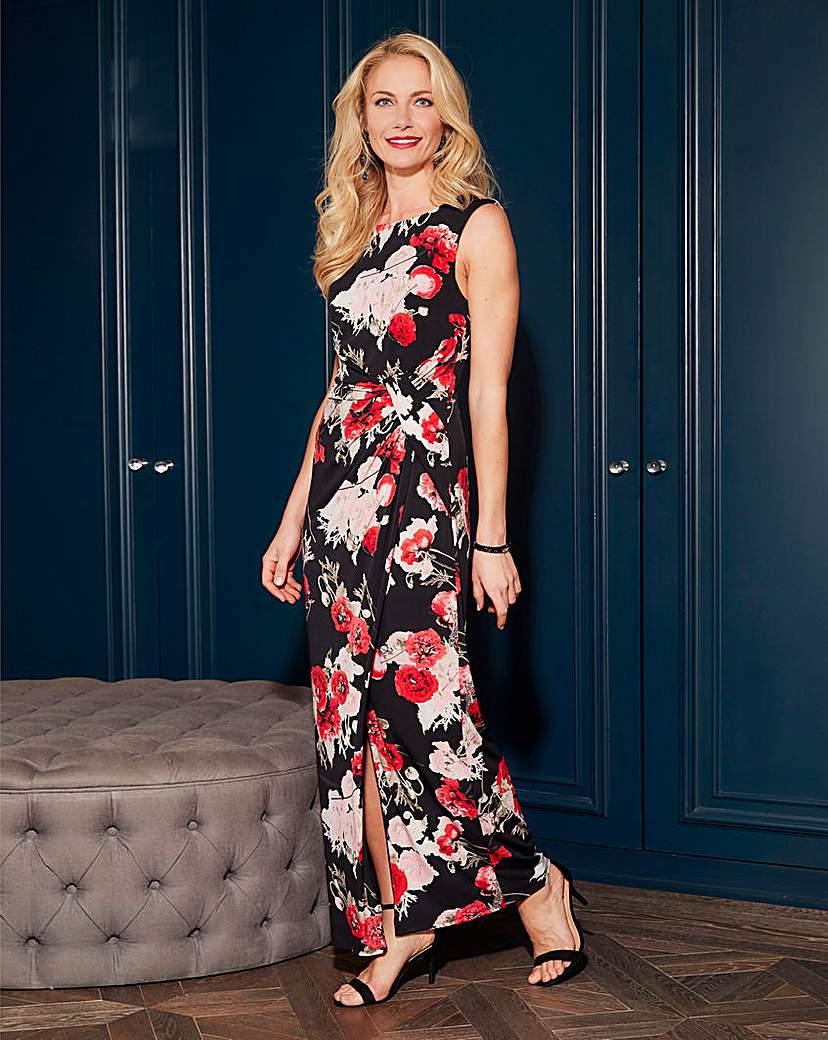 Image of Joanna Hope Petite Print Maxi Dress
