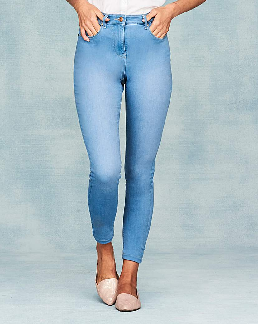 Lucy High Waist Skinny Jeans Long.