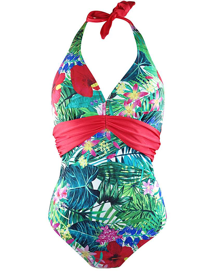 Pour Moi Jungle Fever Underwired Suit.