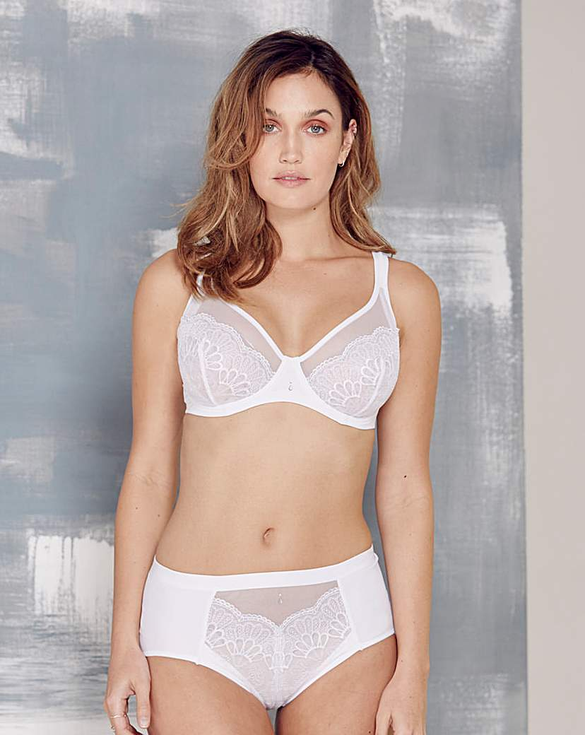 Image of Berlei Beauty Style Wired White Bra