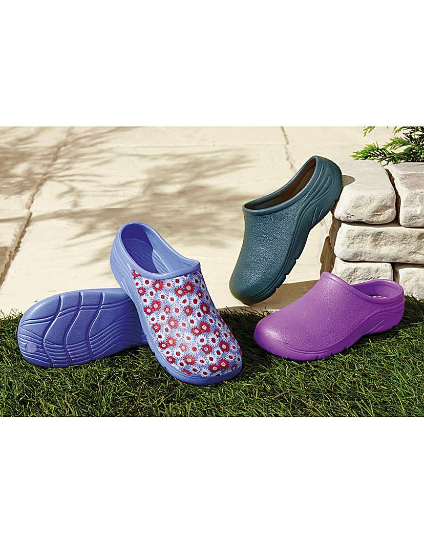 Briers Clogs Pink or Purple